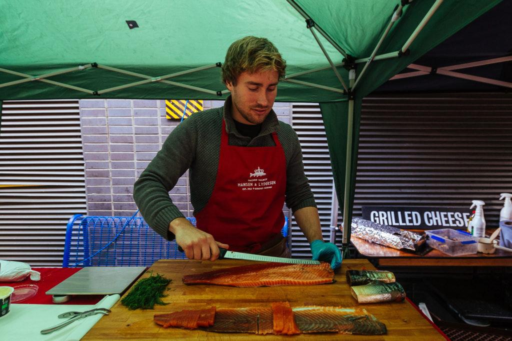 Hansen & Lydersen, Smoked Salmon, Maltby Market