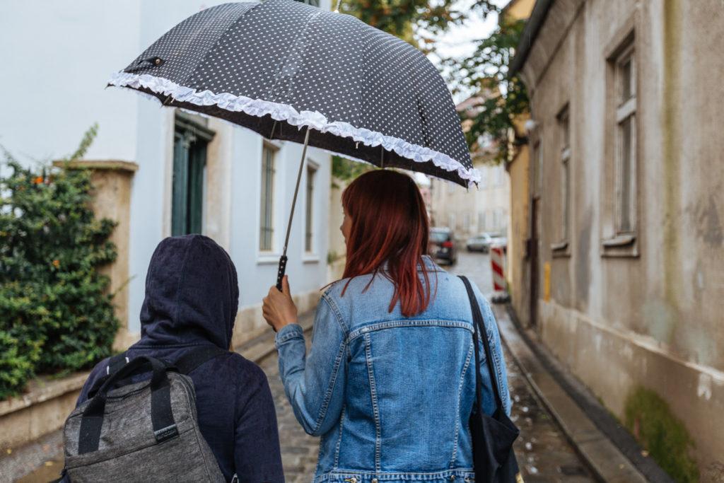 Iva et Fred à Zagreb