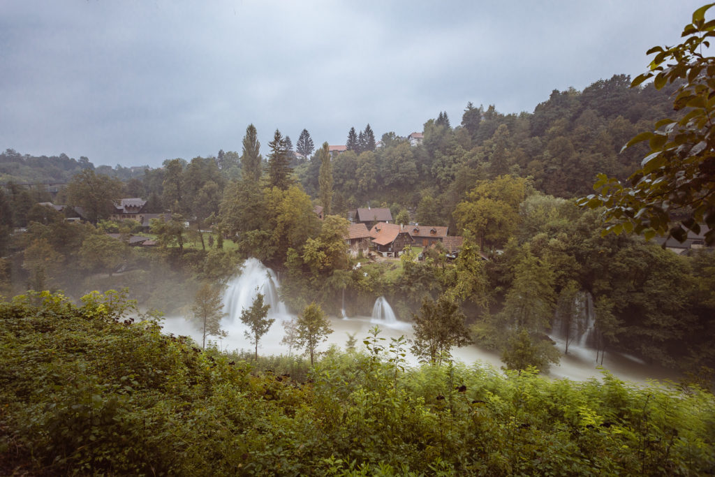 Waterfalls of Rastoke, Croatia
