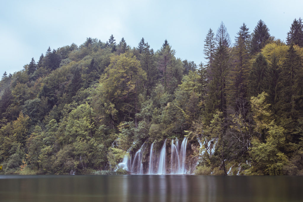 Waterfall at Plitvice Lake, Croatia