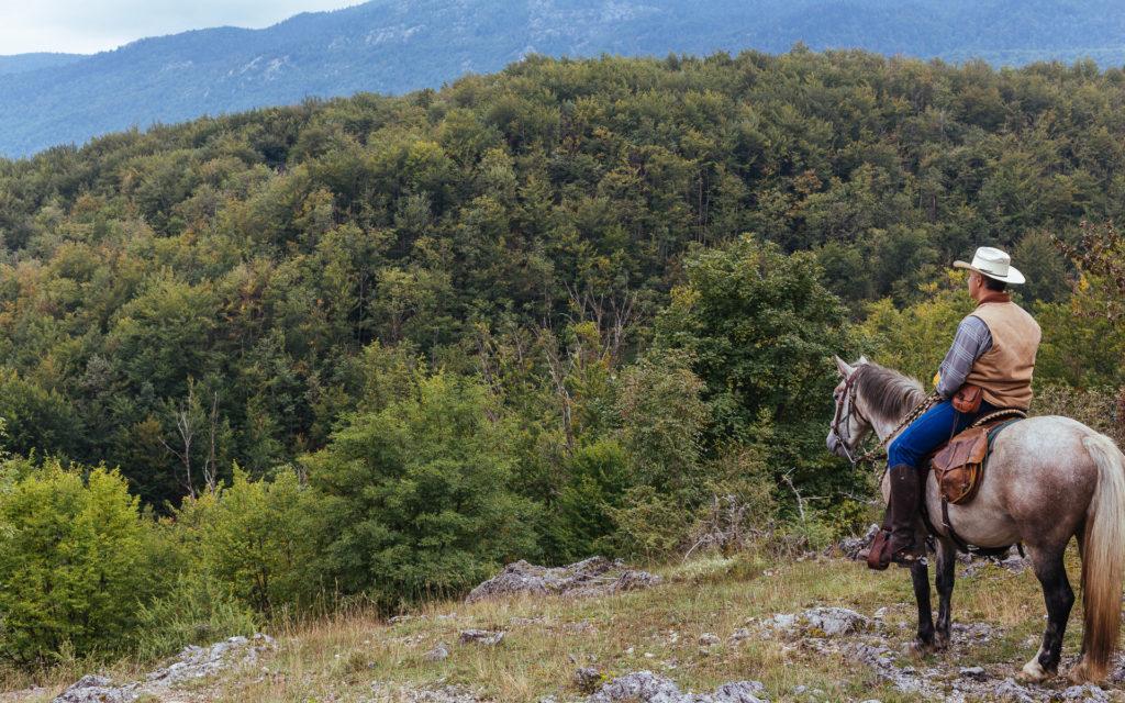 Randonnée à cheval dans le Velebit, Croatie