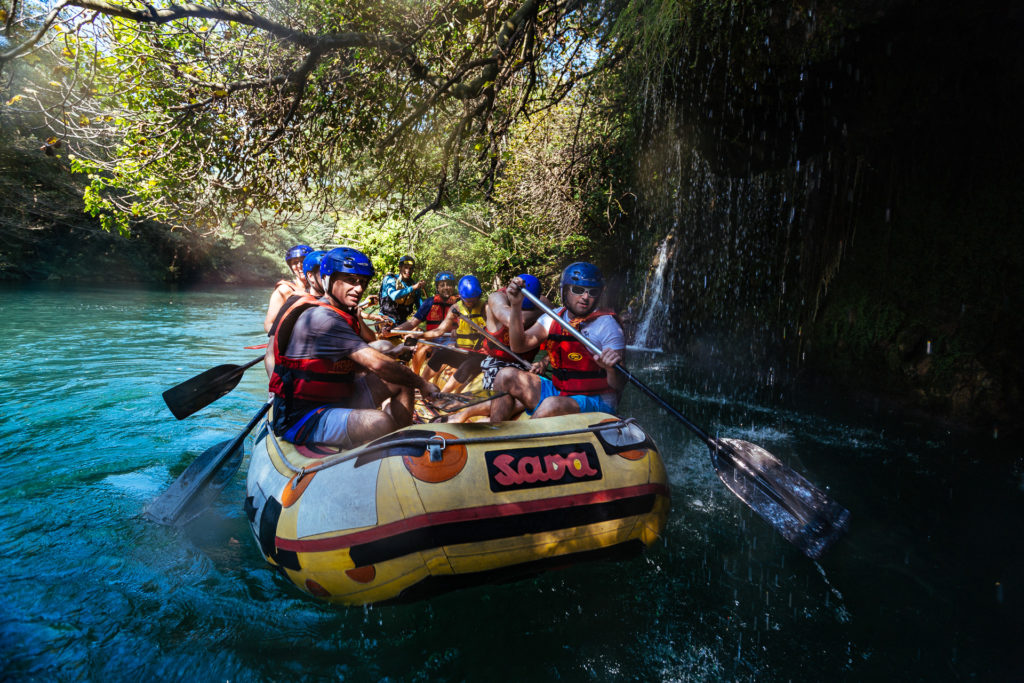 Rafting on the Cetina River with Slap, Croatia