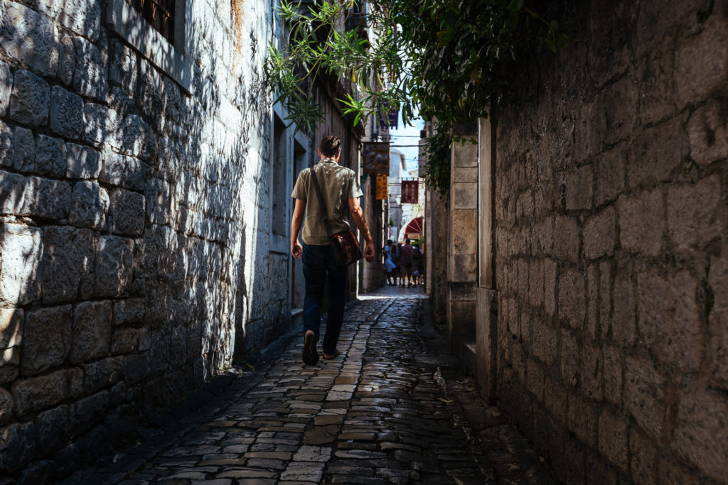 Small streets in Trogir