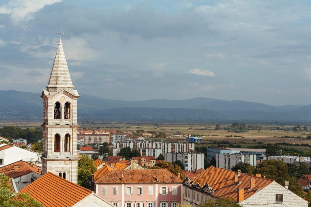 Village de Sinj, Croatie