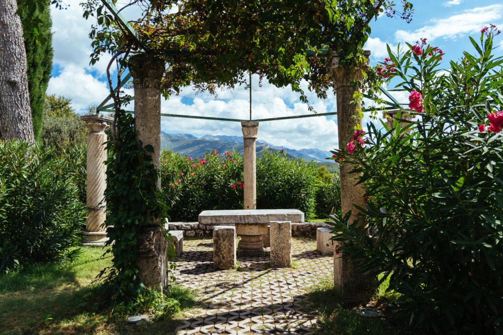 Diocletian garden in Salona, Croatia
