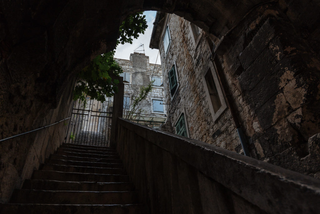 Private stairway in Split