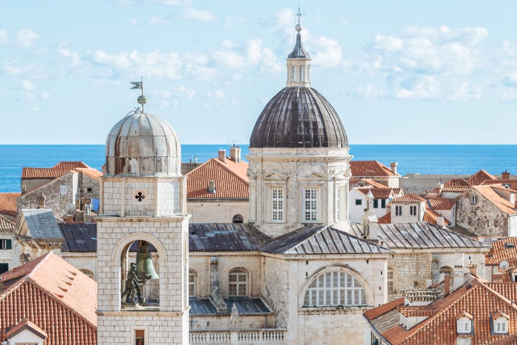 Sur les toits de Dubrovnik