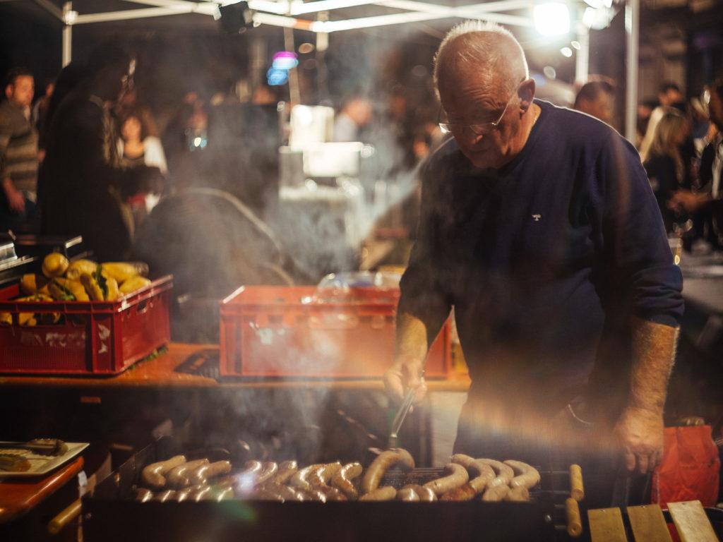 Barbecue, Nocturne des Coteaux, Liège