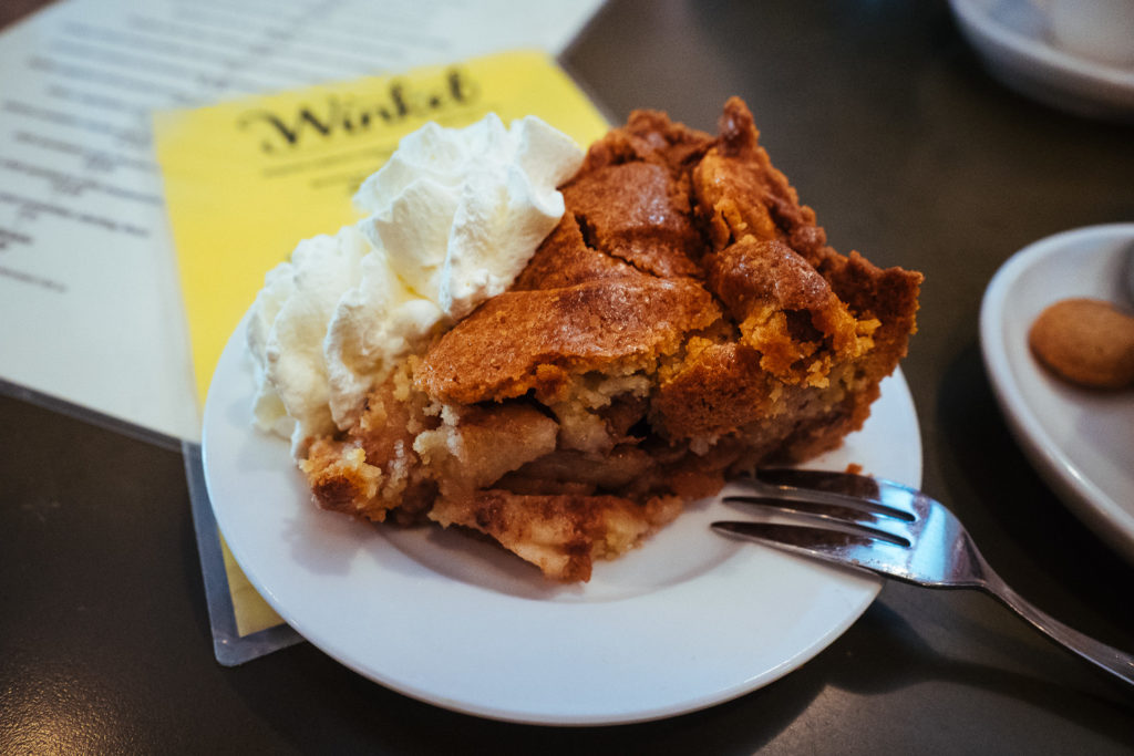 Apple pie at Winkel 43, Amsterdam