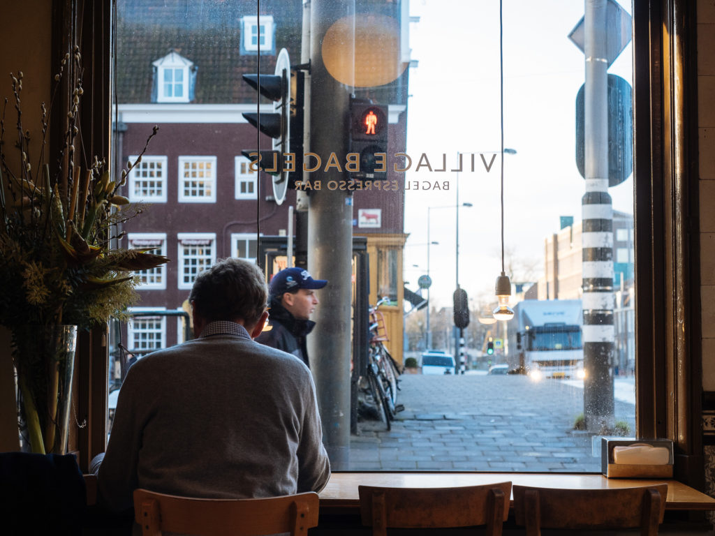 Village Bagels, Bagel Espresso Bar in Amsterdam