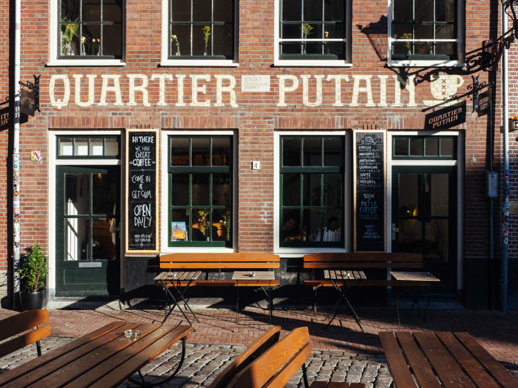 Quartier Putain, Great coffee in Amsterdam