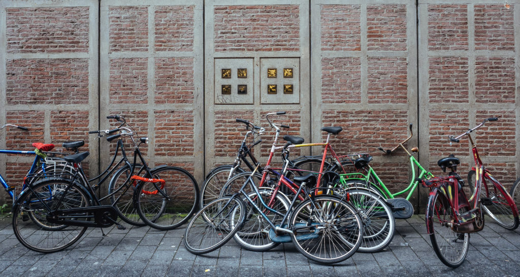 Vélos dans Amsterdam