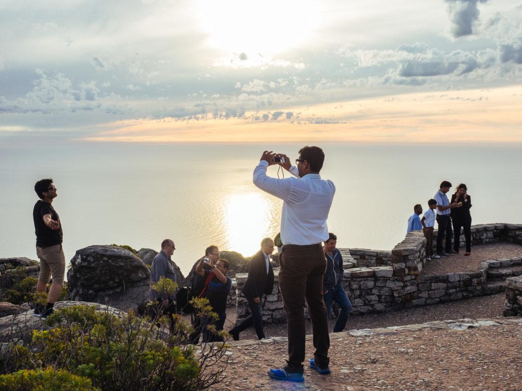 Les magnifiques photos de touristes, Table Mountain