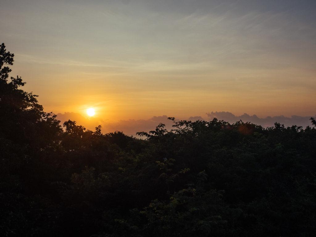 Sunrise over the sea, Rocktail Beach Camp
