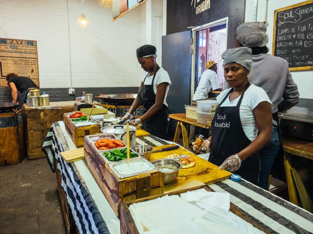 Soul Souvlaki, Market on Main, Johannesburg
