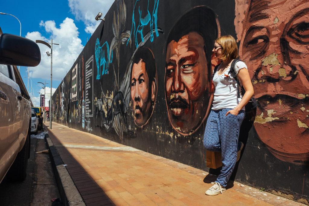 Frédérique, Johannesburg