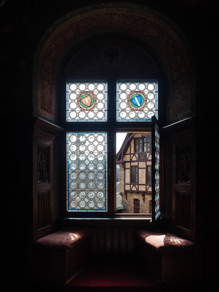 À l'intérieur du Reichsburg, Cochem