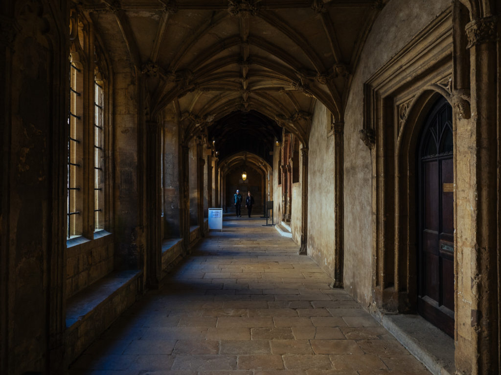 Christ Church hallway, Oxford