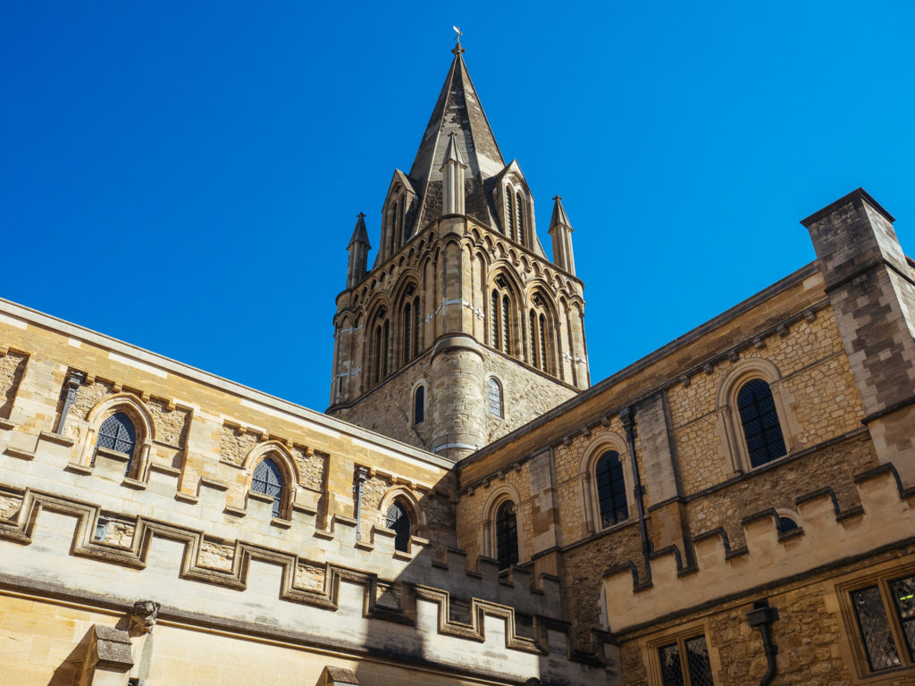 One of the towers of Christ Church, Oxford