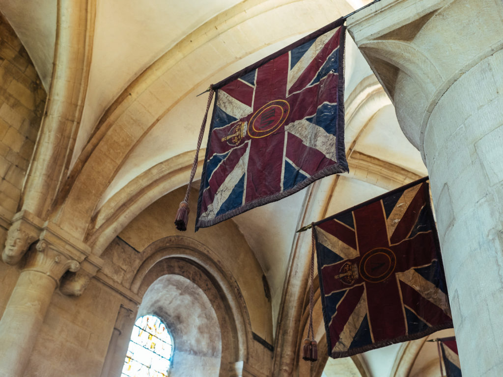 Fun with flags, Christ Church, Oxford