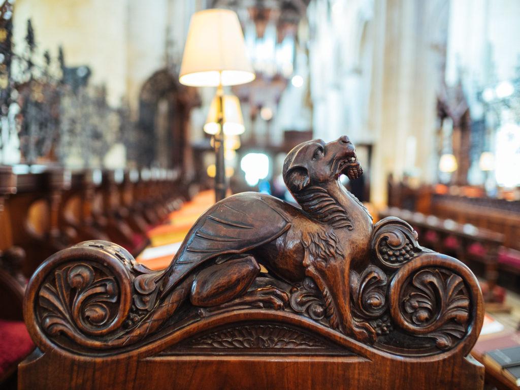 Dragon ornament, Chirst Church, Oxford