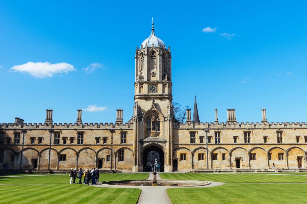 Visit Christ Church, Oxford