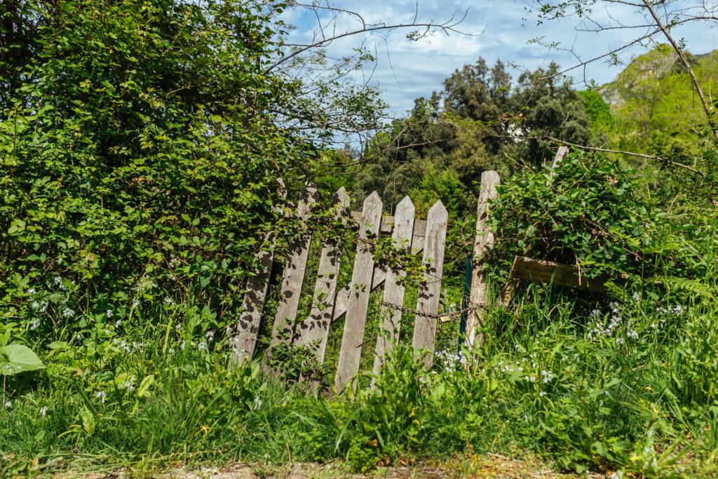 Barrière abandonnée, Ajaccio