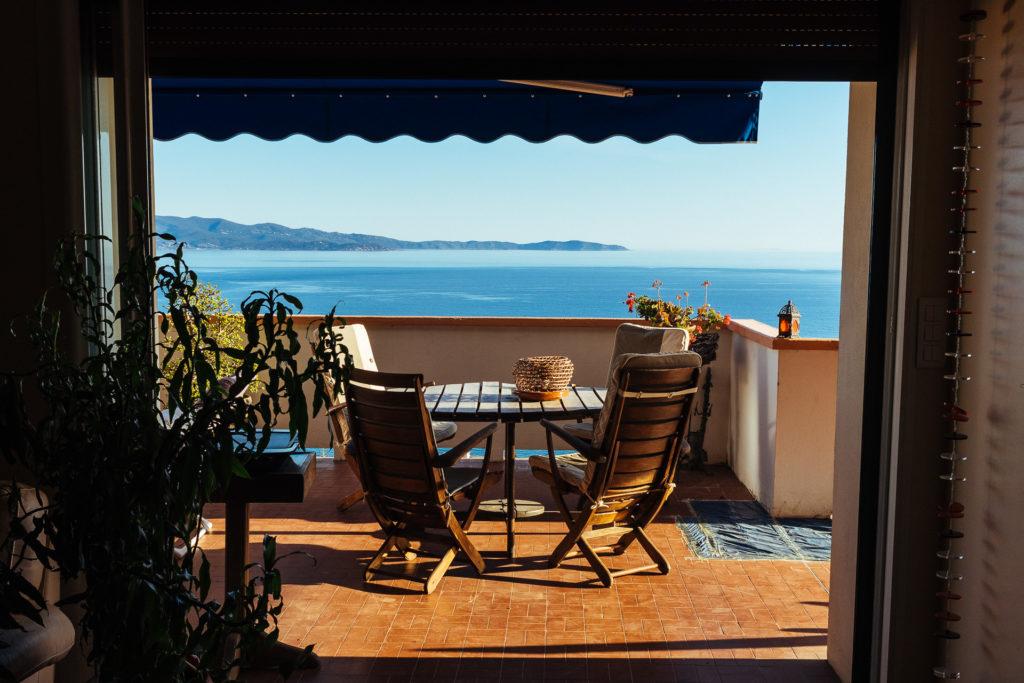 Hébergement avec vue sur la mer, Ajaccio