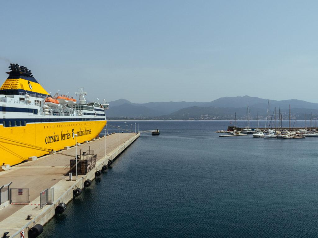 Corsica Ferries, Ajaccio