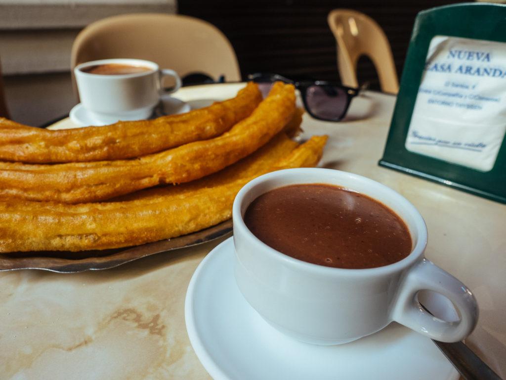 Chocolate con churros, Malaga