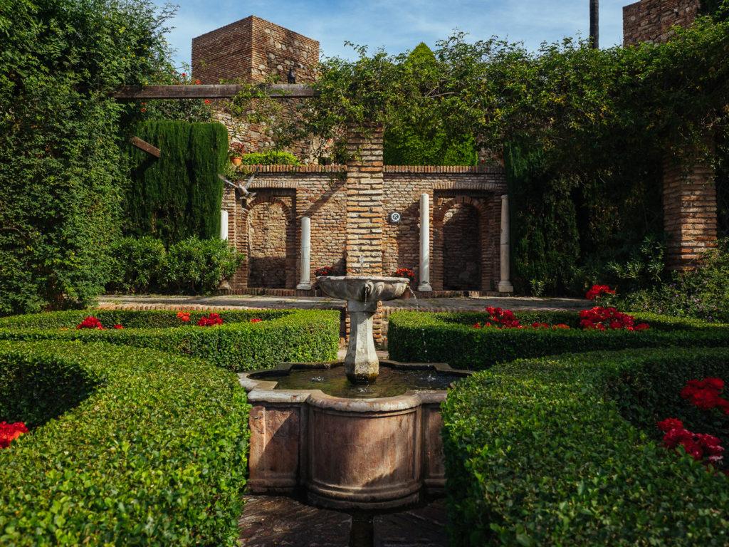 Fontaine, Alcazaba, Malaga