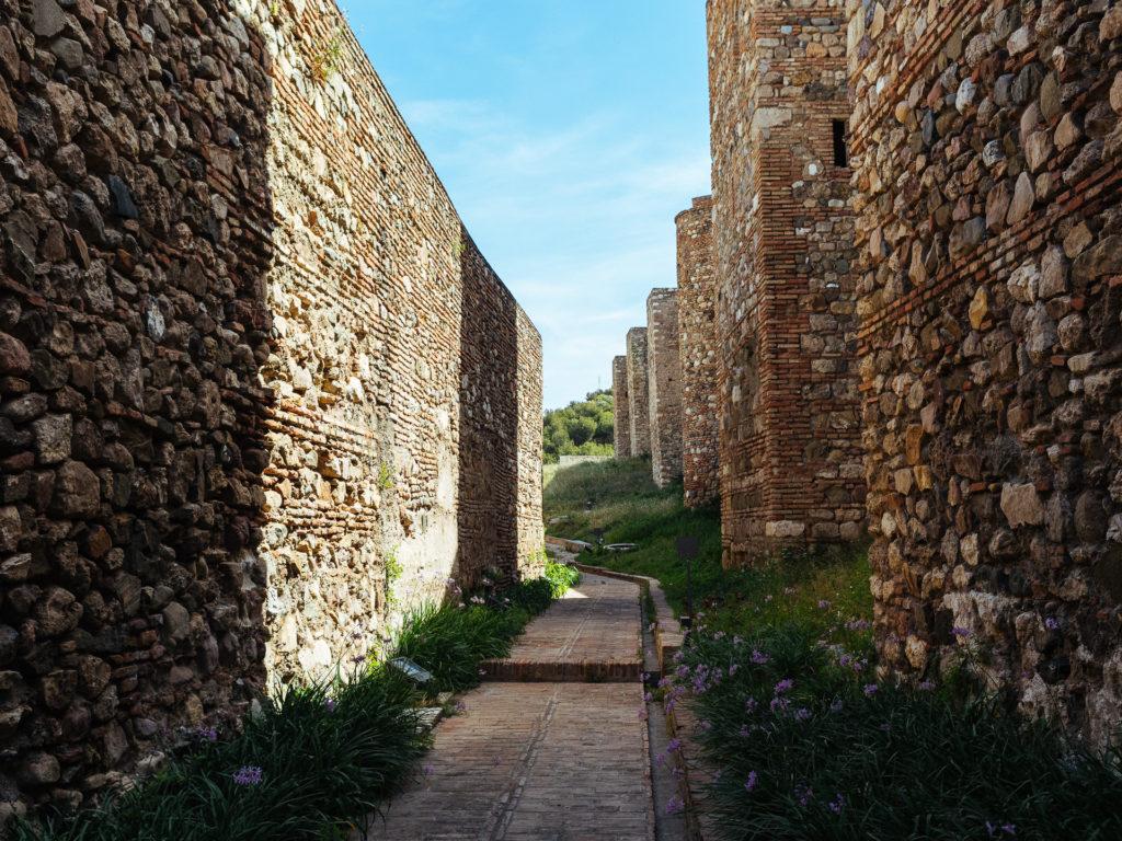 Enceinte de l'Alcazaba, Malaga