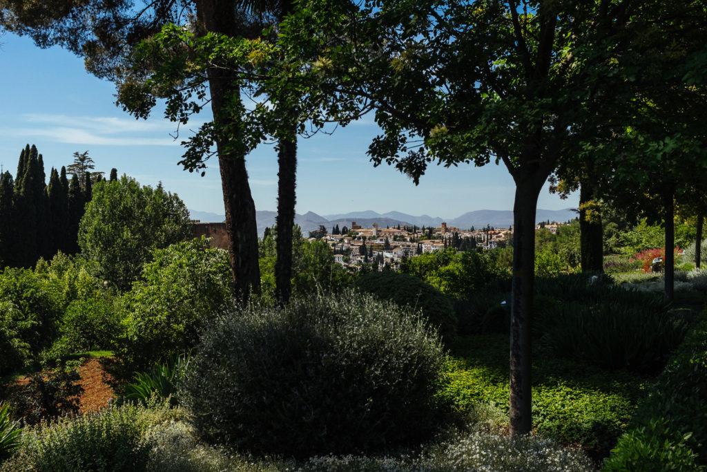 Grenade depuis La Alhambra