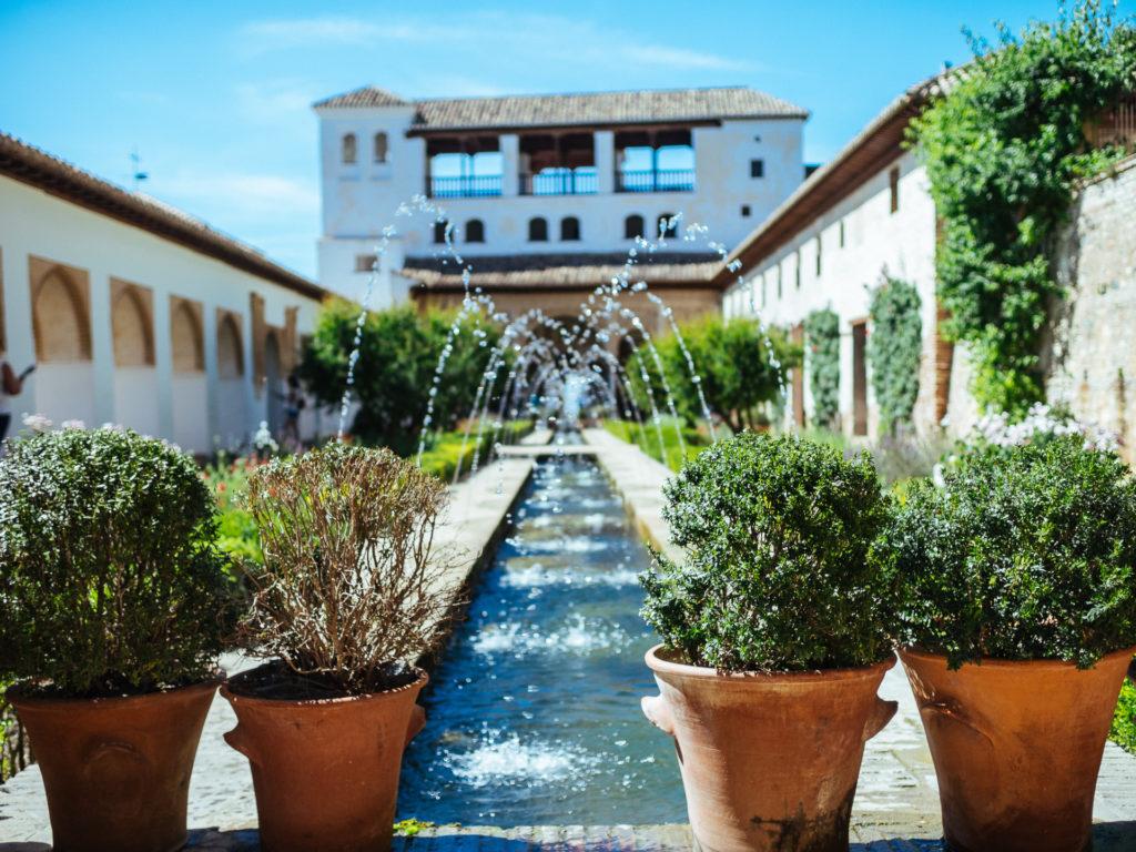 Fontaines de La Alhambra, Grenade