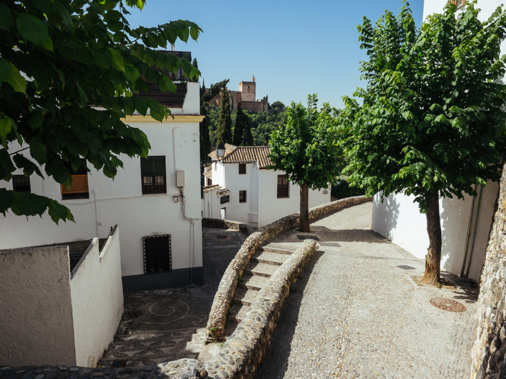 Cuesta de las Tomasas, Granada