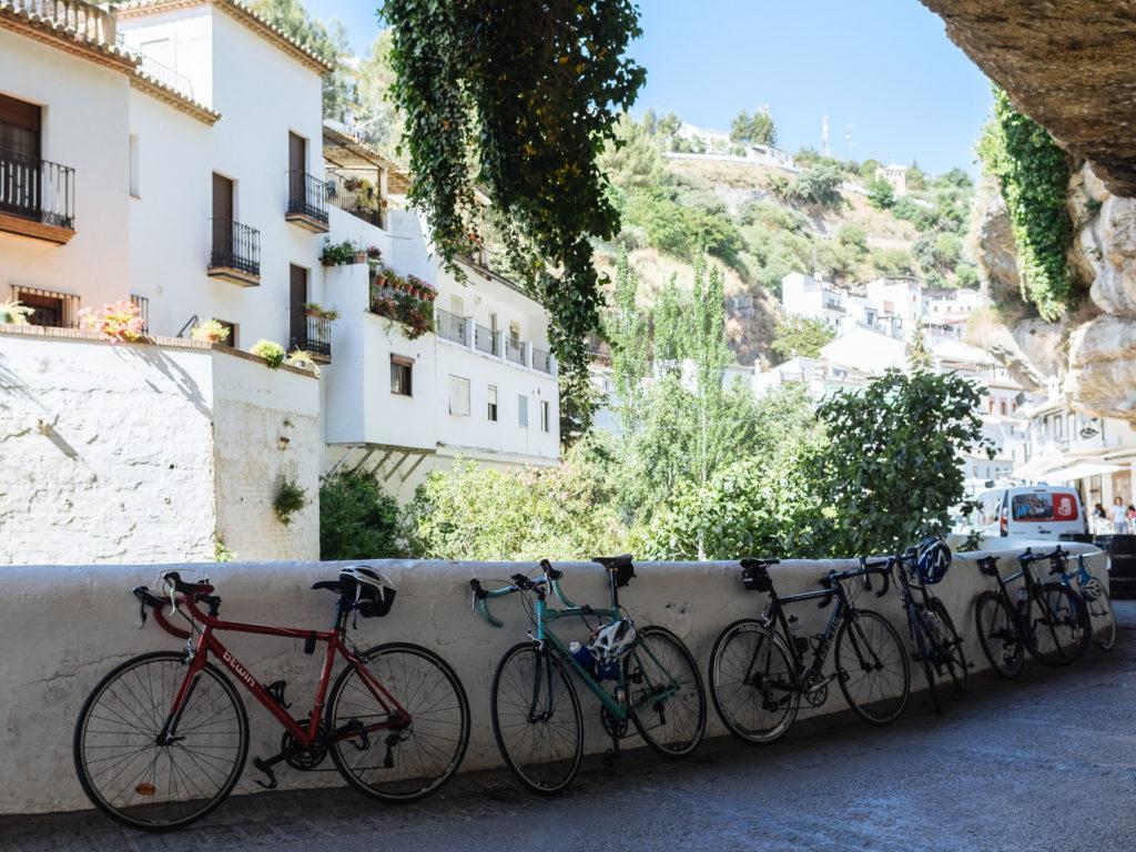 Calle Cuevas del Sol, Setenil de las Bodegas, le jour