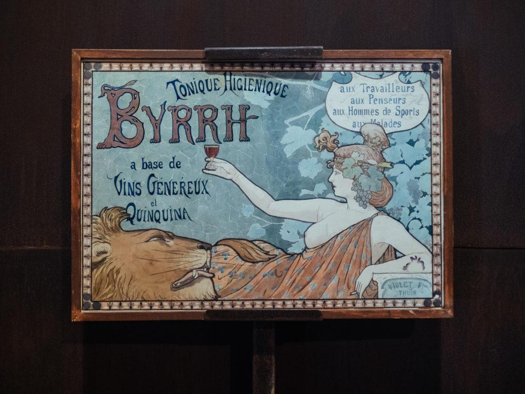 Affiche de Byrrh
