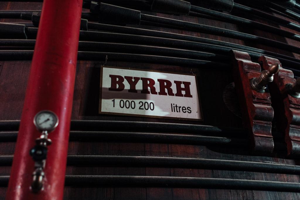 Caves de Byrrh, cuve de 1000200 litres