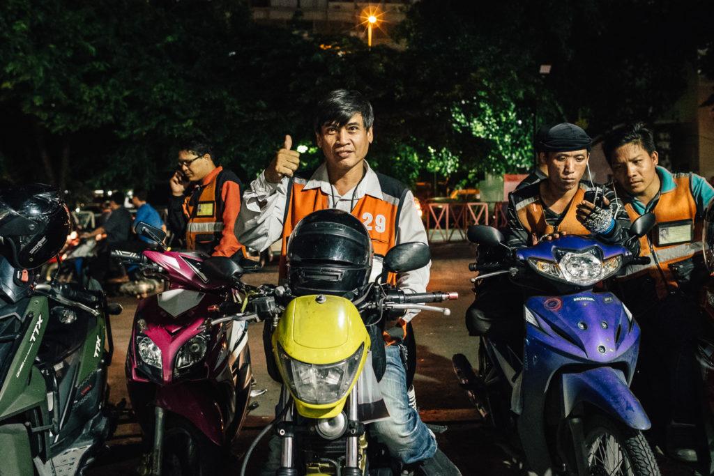 Bangkok moto taxi driver