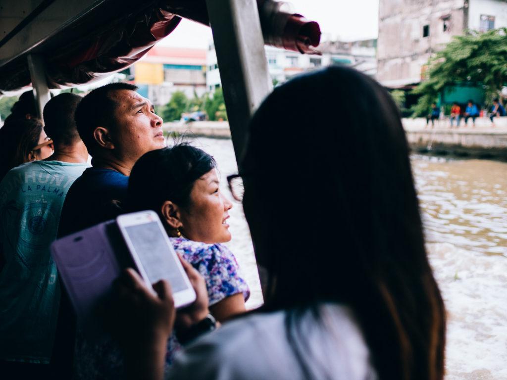 Crossing the river, Bangkok