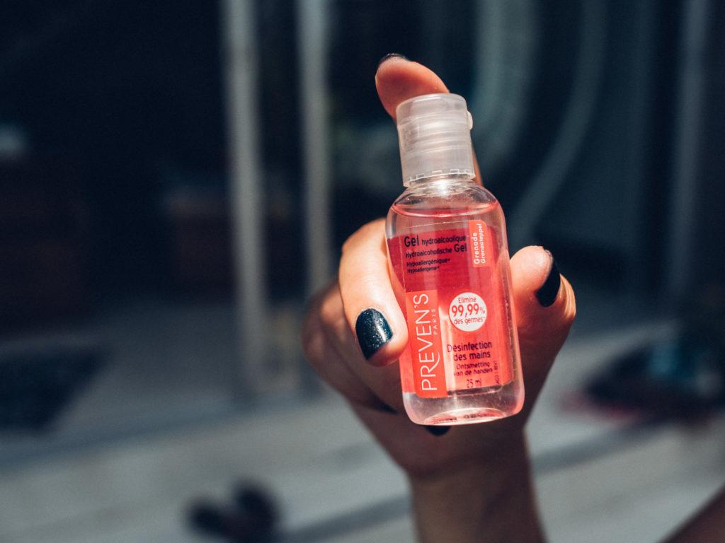 Gel désinfectant pour les mains