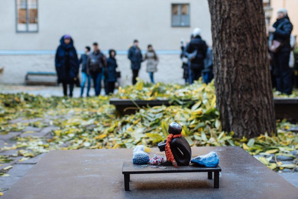 Järnpokje, tiniest statue in Stockholm