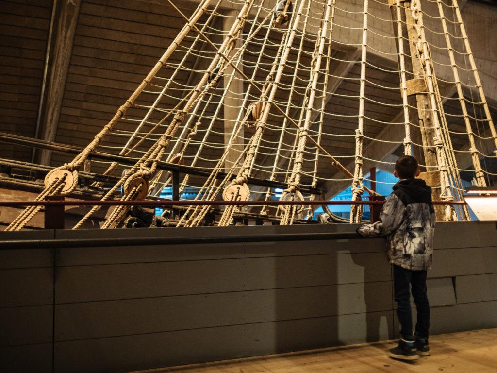 Enfant au Vasa museet, Stockholm