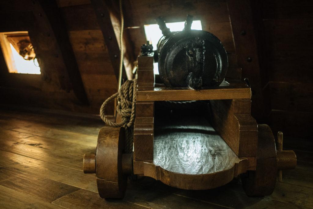 Reconstitution d'un canon du Vasa, Stockholm
