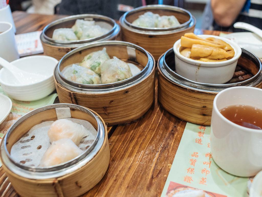 Ordering too much food is easy in Hong Kong