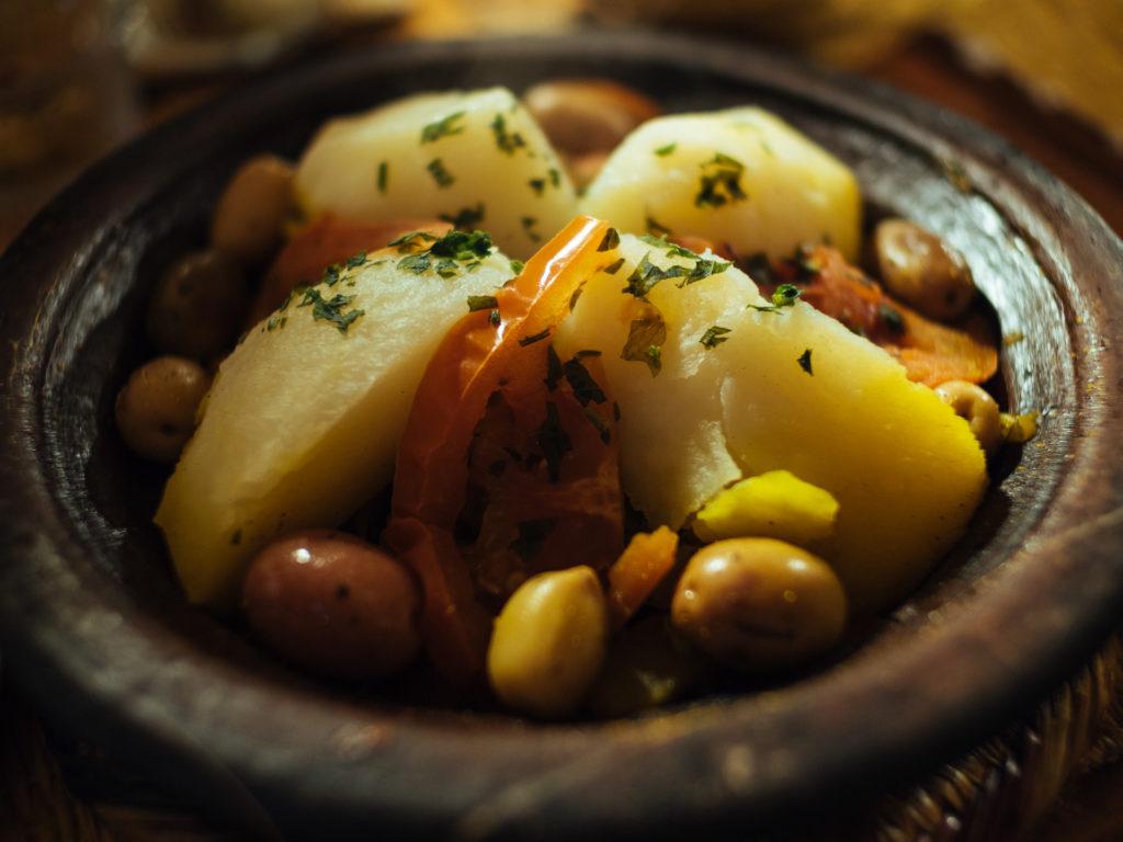 Tajine aux 7 légumes, Marrakech