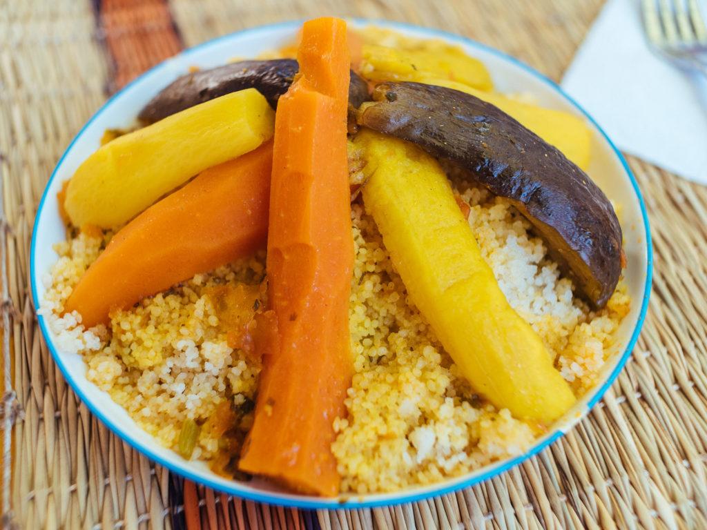 Couscous végétarien, Marrakech