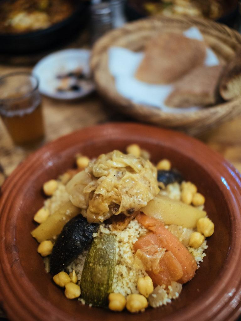 Couscous berbère, Marrakech