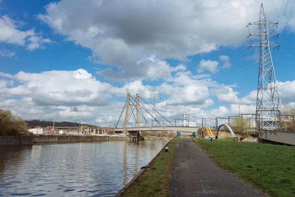 Balade le long de la Sambre, Charleroi