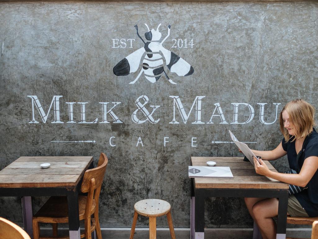 Frédérique, Milk & Madu, Canggu